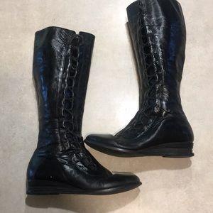 Miz Mooz Blitz Boots Womens 7.5 leather upper